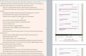 how to edit books on an iPad and import them into Scrivener