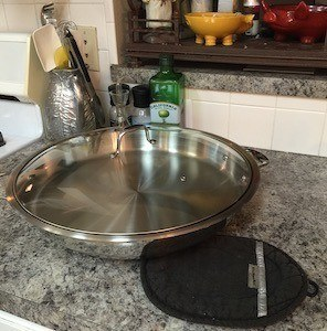 new cucinapro frying pan
